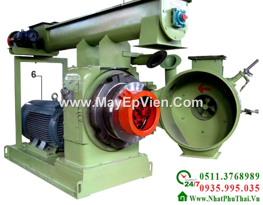 Ring Die Wood Pellet Mill Equipment