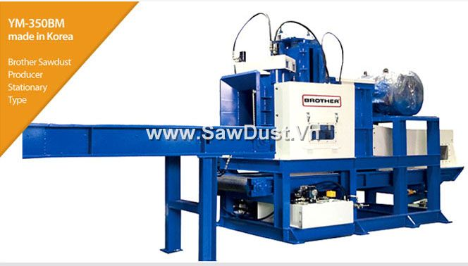 Brother Sawdust Machine Made In Korea. Capacity 25 - 75 m3/h